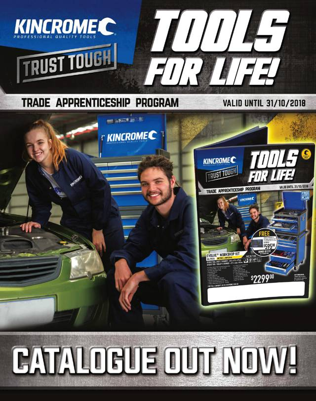 Kincrome Trade Apprentice Program