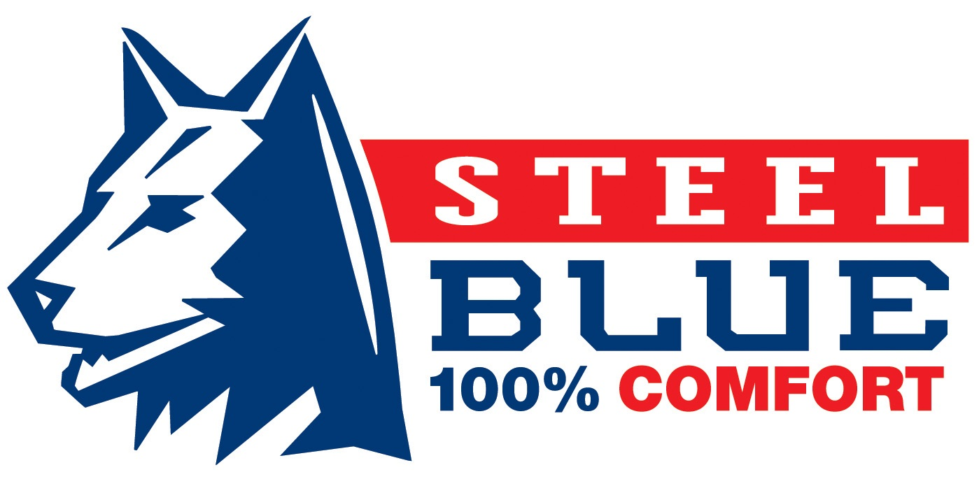 Steel Blue Safety Boots - 100% Comfort