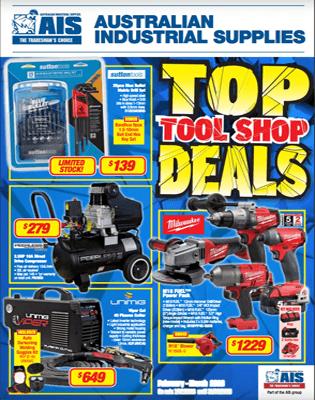 AIS Feb-Mar 2018 Top Tool Shop Deals