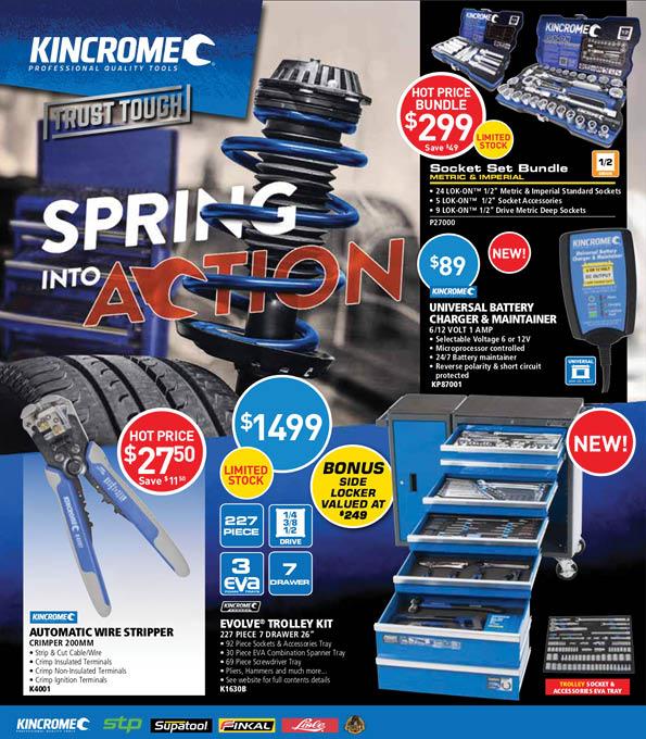 Kincrome Catalogue Sep-Oct 2018