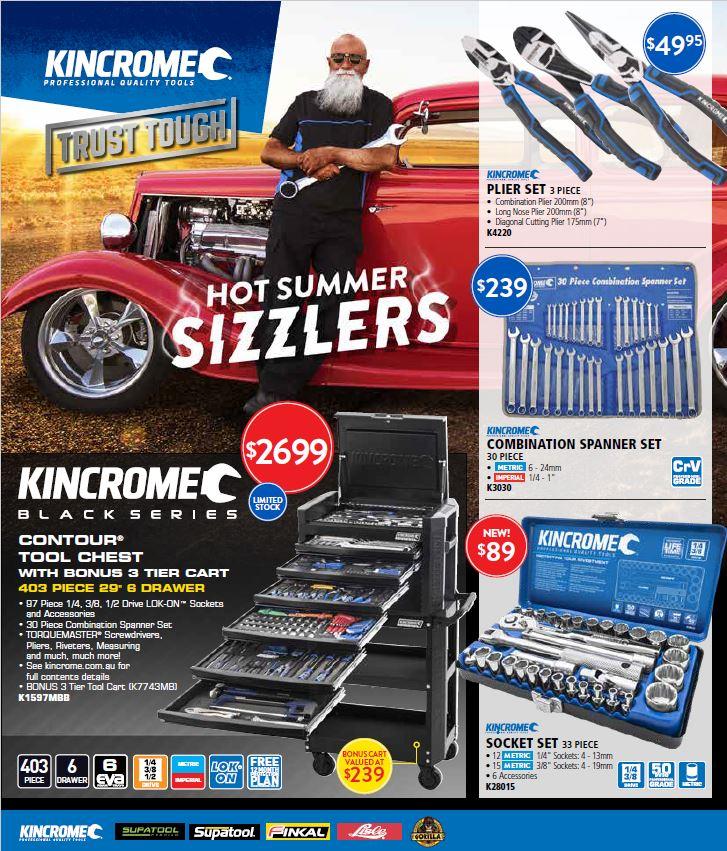 Kincrome Catalogue Jan-Feb 2019