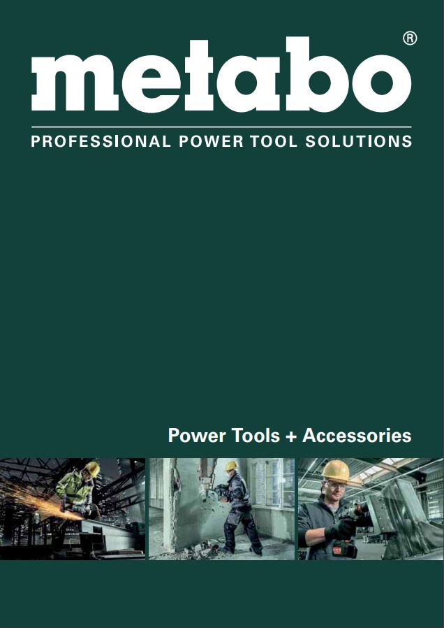 Metabo Power Tools & Accessories 2018-19