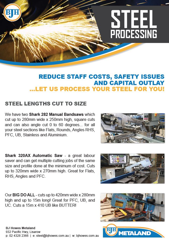 Steel Products processing