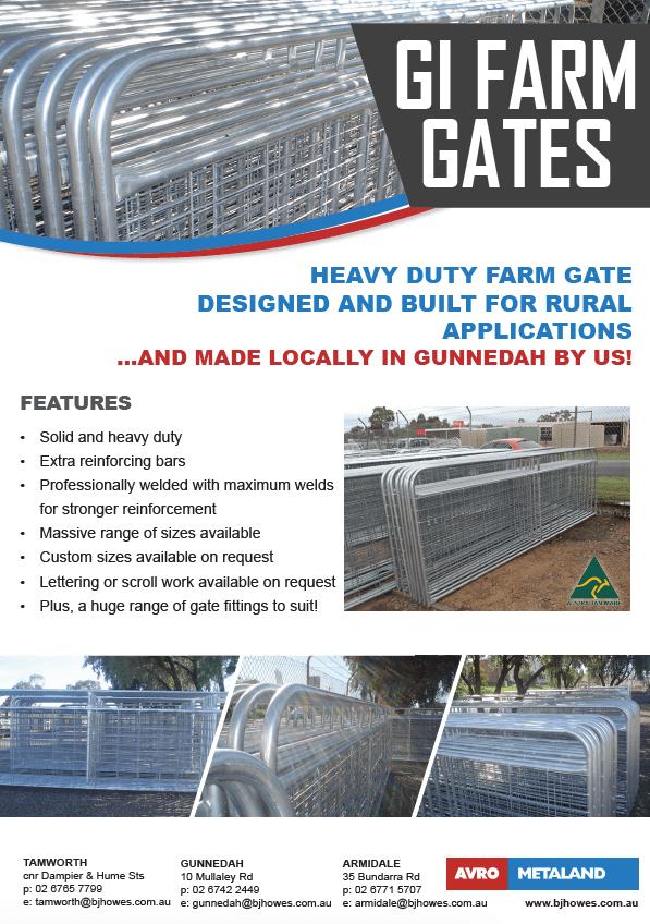 GI Farm Gates
