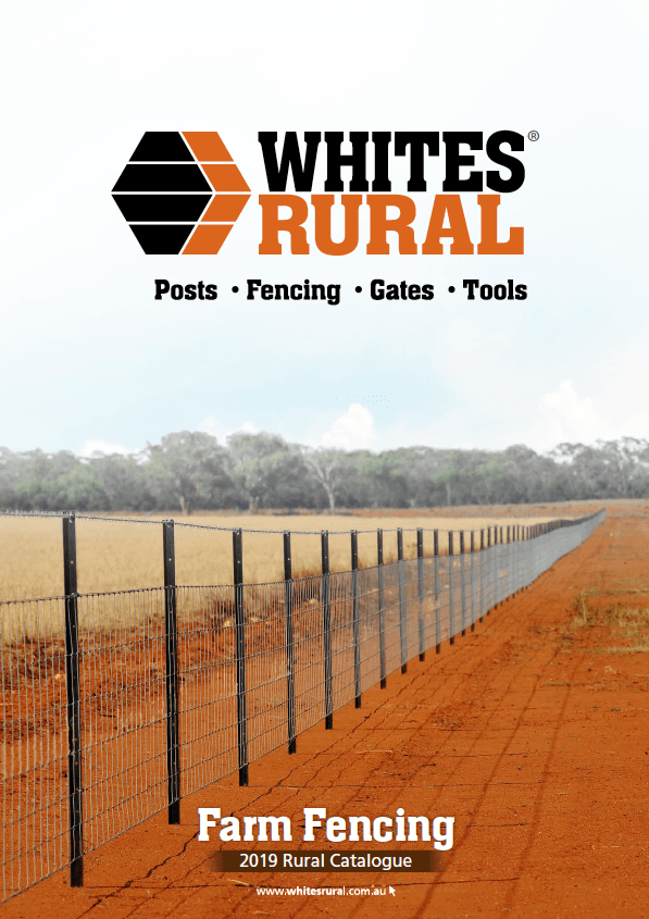 White Rural Farm Fencing