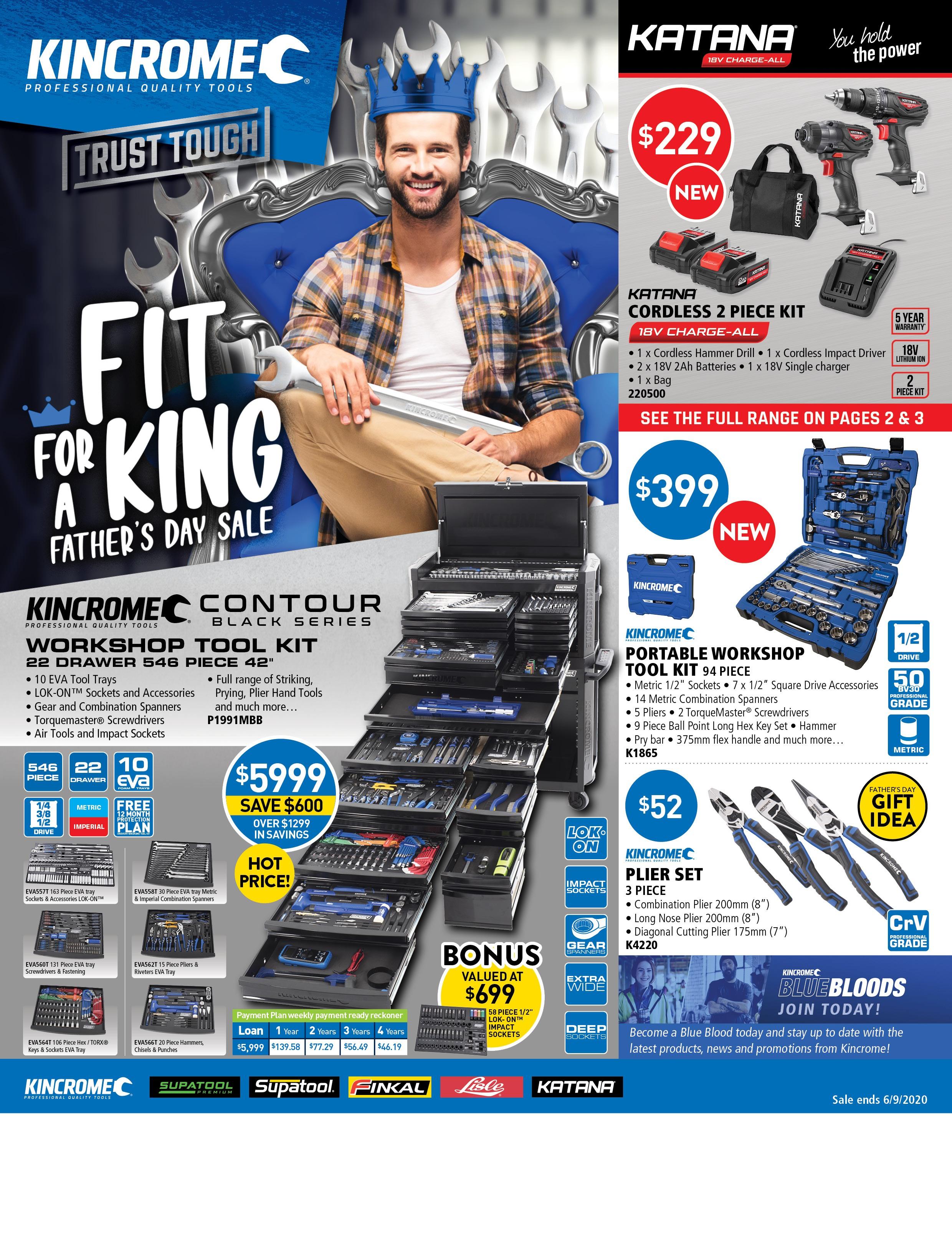 Kincrome Catalogue Jul-Aug 20