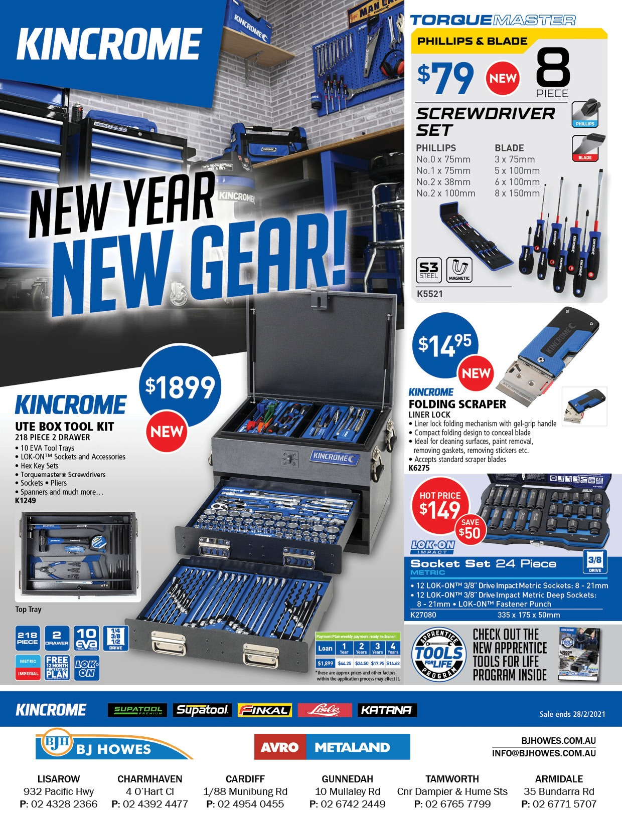 Kincrome Catalogue Jan-Feb 21