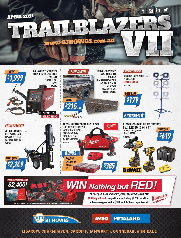 Trailblazer Catalogue April 21
