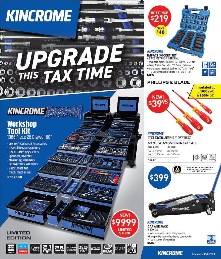 Kincrome Catalogue May-June 21