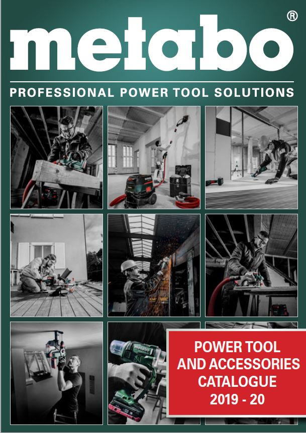 Metabo Power Tools & Accessories 2019-20